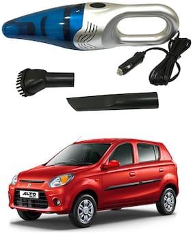 Oshotto 3500PA 12V (OSHO-VC-03) 100W Portable Car Vacuum Cleaner Compatible with Maruti Suzuki Alto-800 (Silver)