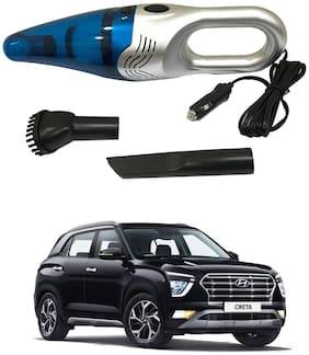 Oshotto 3500PA 12V (OSHO-VC-03) 100W Portable Car Vacuum Cleaner Compatible with Hyundai Creta 2020-2021 (Silver)
