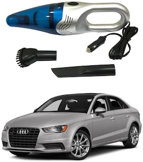 Oshotto 3500PA 12V (OSHO-VC-03) 100W Portable Car Vacuum Cleaner Compatible with Audi A3 (Silver)