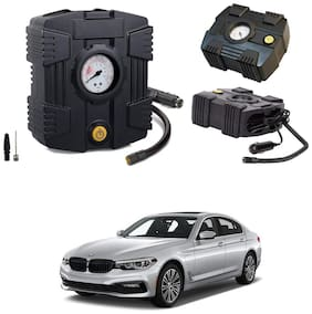 Oshotto  Compact Air Pump Tire Inflator/Compressor 300PSI Compatible with BMW 5 Series (Black)