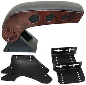 Oshotto Dual Tone Car Armrest Console Wooden & Chrome for Tata Altroz