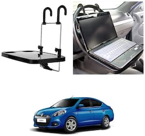 Oshotto Foldable Laptop Tray / Food Tray / Cup holder Multi Functional Car Organiser for Renault Scala/Fluence