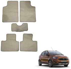 Oshotto/Matcon Carpet Foot mat for Ford Freestyle (Set of 5;Beige)