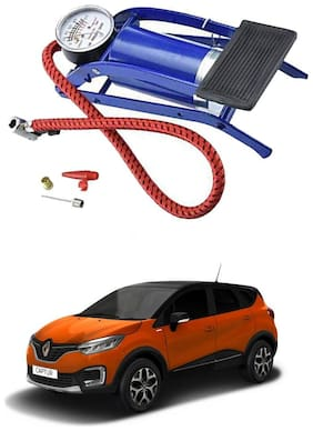 Oshotto Portable High Pressure Foot Air Pump Heavy Compressor Cylinder Compatible with Renault Captur