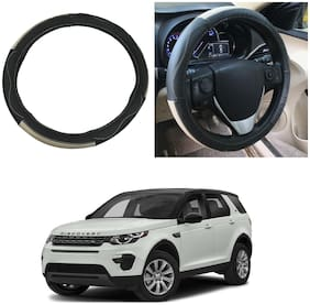 Oshotto SC-009 Leather Car Steering Cover Compatible with Land rover Discovery Sport ( Multi)