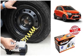 OSHOTTO Heavy Duty with 100W Copper Motor TYRE Inflator for Maruti Suzuki CELERIO