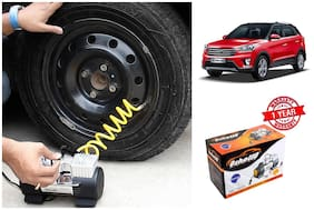 OSHOTTO Heavy Duty with 100W Copper Motor TYRE Inflator for HYUNDAI CRETA