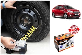 OSHOTTO (Technology from Taiwan) Heavy Duty with 100W Copper Motor TYRE Inflator for FORD ASPIRE