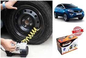 OSHOTTO Heavy Duty with 100W Copper Motor TYRE Inflator for TATA NEXON