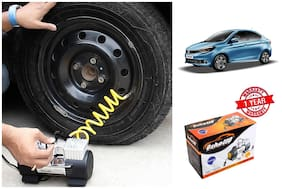 OSHOTTO Heavy Duty with 100W Copper Motor TYRE Inflator for TATA TIGOR