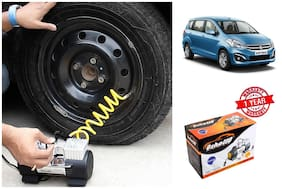 OSHOTTO Heavy Duty with 100W Copper Motor TYRE Inflator for Maruti Suzuki ERTIGA
