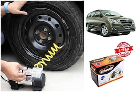 OSHOTTO Heavy Duty with 100W Copper Motor TYRE Inflator for TOYOTA INNOVA