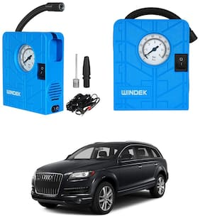 Oshotto   Windek Compact Air Pump Tire Inflator Compressor 300PSI Compatible with Audi Q7 (Blue)