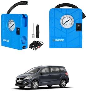 Oshotto  Windek 12V Portable Tire InflatorCompressor with LED Light for Maruti Suzuki Ertiga 2018 (Blue)