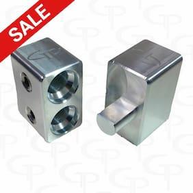 Pair of GP Dual 1/0 Gauge to 1/0 Gauge Amp Input MADE IN USA