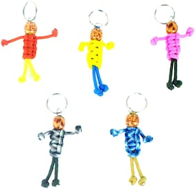 Paracord 550 Best Survival Puppet keychain for Camping, Hiking, Outdoor Activities pack of 10
