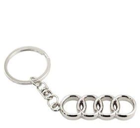 Parrk Audi Key Chain (Silver)