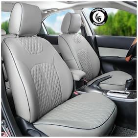 Pegasus Premium PU Leather Car Seat cover Grey For Mahindra Scorpio
