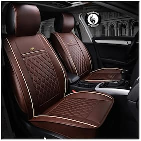 Pegasus Premium PU Leather Car seat cover Cherry For Tata Zest