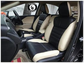 Pegasus Premium PU Leather Car Seat cover Black Beige For Hyundai Creta