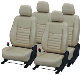 Pegasus Premium PU Leather BEIGE CLASSIC Car Seat Cover For Maruti Suzuki 800