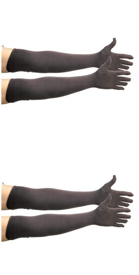 PinKit Cotton Driving Full Hand Arm Sleeves Gloves for Men & Women