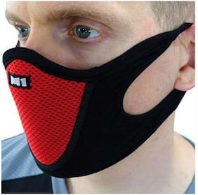 PINKIT Sports Half Face Mask Outdoor Ski Masks for Motorcycle;Bicycle Face Mask;Best Protector from (ASSORTED COLOUR)