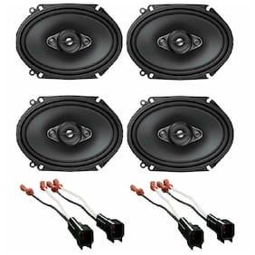 "Pioneer 350W Max (80W RMS) 6x8"" Speakers + 4 Metra 72-5600 Ford Linclon Mercury"