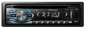 Pioneer DVH-3490UB MP3 DVD Receiver Single-DIN Stereo (1 Piece)