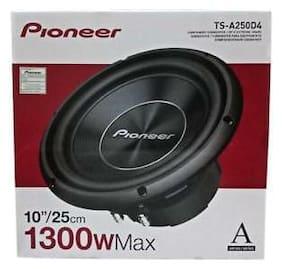 "Pioneer TS-A250D4 1300 W Max 10"" Dual 4-Ohm Voice Coil DVC Car Audio Subwoofer"