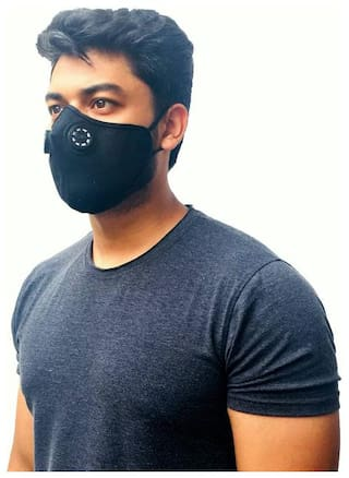 Pollution Mask  Anti Air Dust and Smoke Pollution Mask with DOUBLE FILTER FOR BIKERS