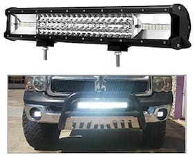 PR Led Bar / Fog Light / Work Light Bar Heavy Duty 108 W 15 Inch Combo Beam(White Colour) Off Road Driving LA 1 Pc Universal Fitting Cars Tripple Row