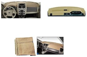 Premium Dashboard Cover For SANTRO XING  BIEGE COLOR - By CARSAAZ