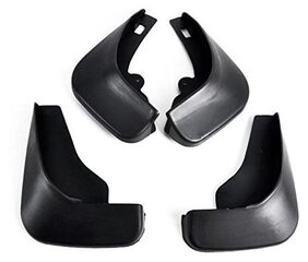 Premium Quality Car O.E Type Mud Flaps (Injection Molded Unbreakable) For Honda City 2009