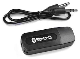 Print Shapes Car Bluetooth audio music Receiver Dongle