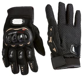 PRO BIKER Gloves for Bike/Motorcycle/Cycle Riding Gloves Biker Gloves (XL)