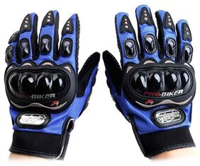 Probiker Glove Full Blue
