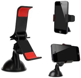 Prro Universal Car Mobile Holder with 360 deg Rotating (Black)