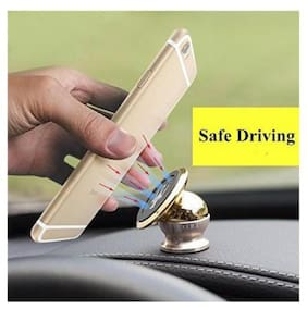 PRUSTY'S Magnetic Car Mobile Holder For Dashboard & Windshield For All Type Of Mobiles