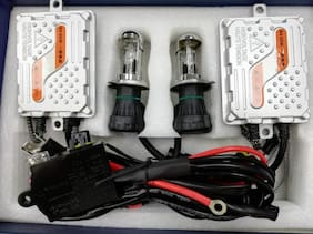 Prusty's Premium Quality Xenon Headlight HID Kits For Car (H7- 8000K)