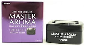 PSSS Carall Master Aroma White Musk Scent Car Air Freshener Gel, 70g