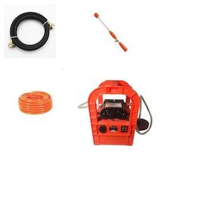 QTH High Pressure Washer Power Jet Wash Cleaner 12V Pump Electric Car Wheel Wash Kit