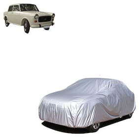 QualityBeast Car Cover for Premier Padmini Silver