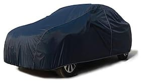 QualityBeast Car Body Cover for TUV300 Plus Facelift Mahindra (Blue)