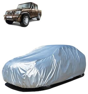 QualityBeast Car Body Cover for Bolero Camper Mahindra Silver