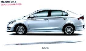 Quara Automaze Car Side Decal Full Body Sticker Graphics;Color Dolphin For Maruti-Ciaz 0239