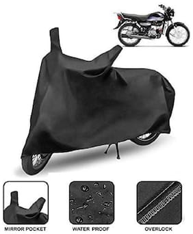 Rainy Time Universal Bike & Scooty Cover with mirror pocket (Assorted)