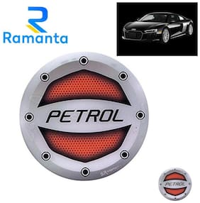 Ramanta Reflective Red Petrol Inside Decal Car Fuel Cap Sticker for all Audi Cars