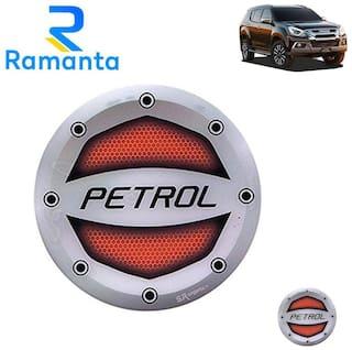 Ramanta Reflective Red Petrol Inside Decal Car Fuel Cap Sticker for all Isuzu Cars