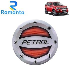 Ramanta Reflective Red Petrol Sticker Car Fuel Lid for Tata